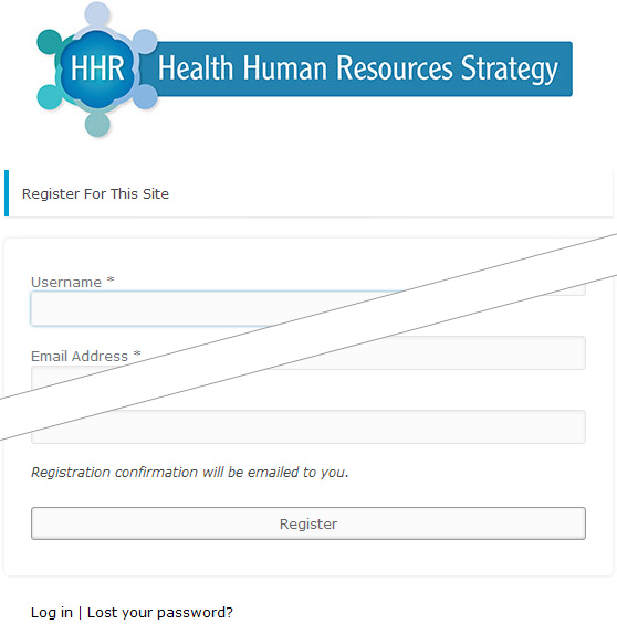 HHR Strategy Sign Up Step One
