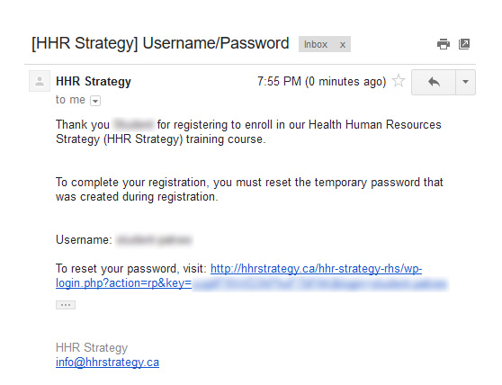 HHR Strategy Sign Up Step Two